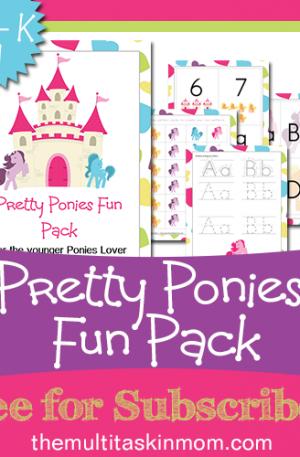 Pretty Ponies Fun Pack
