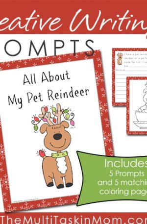 Writing Prompt My Pet Reindeer