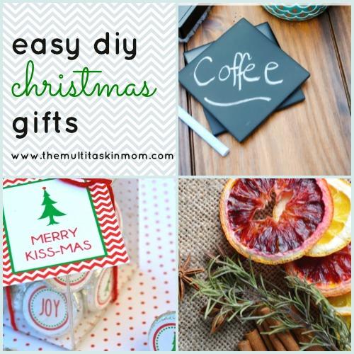 Easy DIY Christmas Gifts