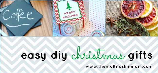 Easy DIY Christmas Gifts