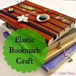 Elastic Bookmark Craft