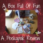 A Box Full Of Fun ~ Peekapak Review