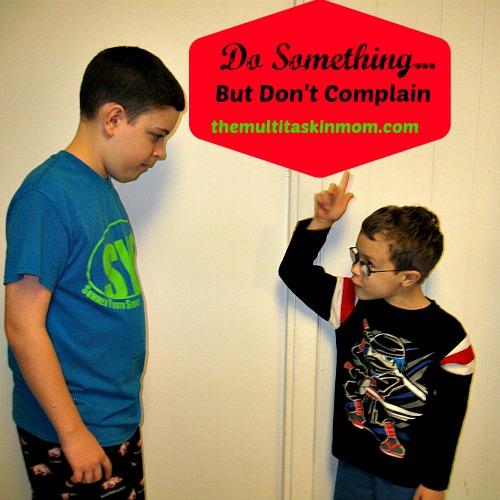 Instead of grumbling or complaining try doing something about the situation. Join us as we talk about complaining and encourage you to look at it from a different perspective