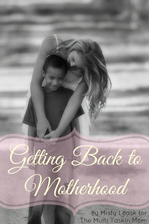 Getting Back to Motherhood