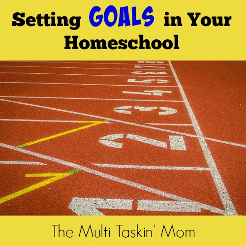 Setting Goals in Your Homeschool - The Multi Taskin' Mom
