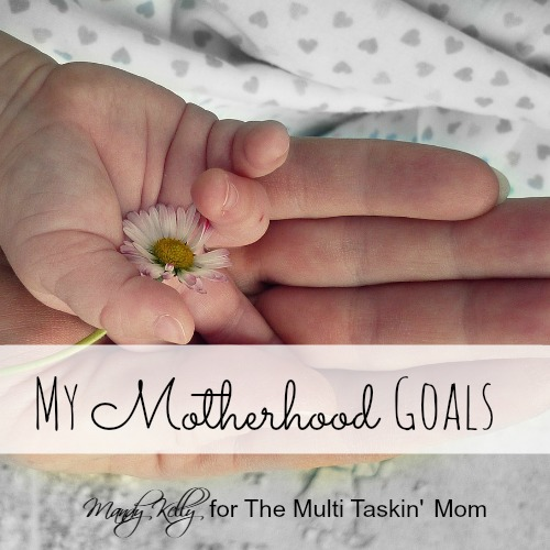 This year, I made some goals as a mom. However, they might be different then you think.