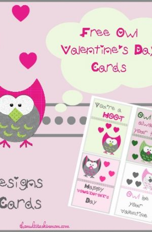 Owl Themed Valentines