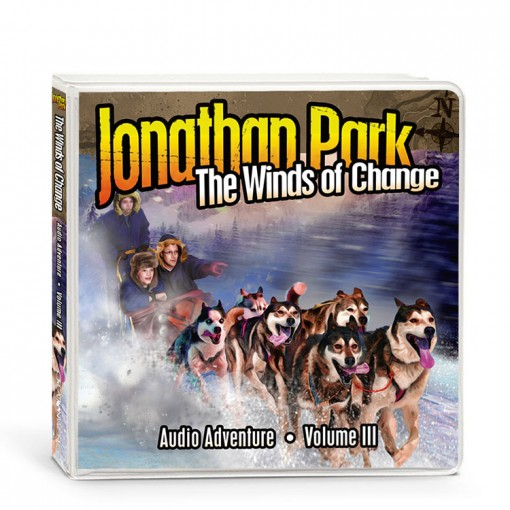 "We have listened to a few great books this year on our rides, and we were excited to discover a brand new audiodrama recently. We had the opportunity to listen to ""The Winds of Change"" which is Album 3 in the Jonathan Park Creation Series."