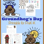 FREE Groundhog's Day Printable Pack