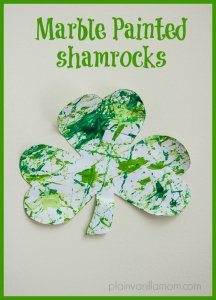 marble-painted-shamrocks-III