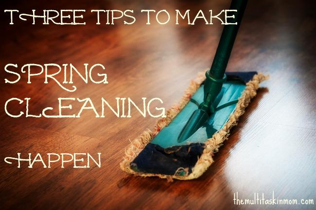 spring cleaning slider image