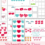 Valentines Day Math FREEBIES