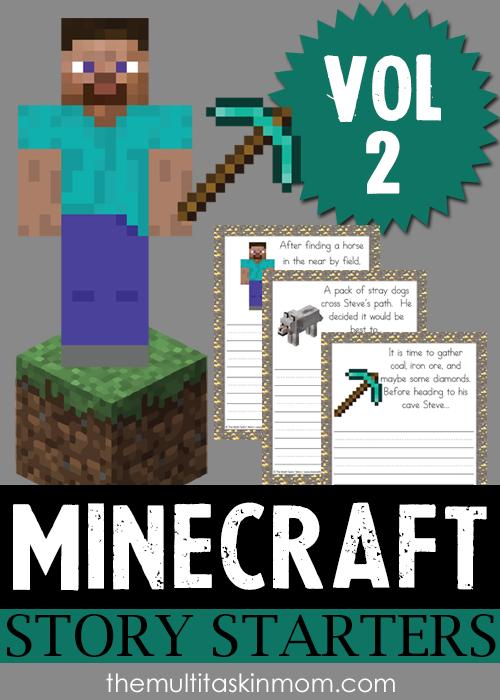 Minecraft Story Starters Vol 2