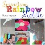 Springtime Rainbow Mobile