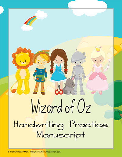 WoO Manuscript Handwriting Practice Cover