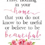 Beautiful Home *Free Printable*