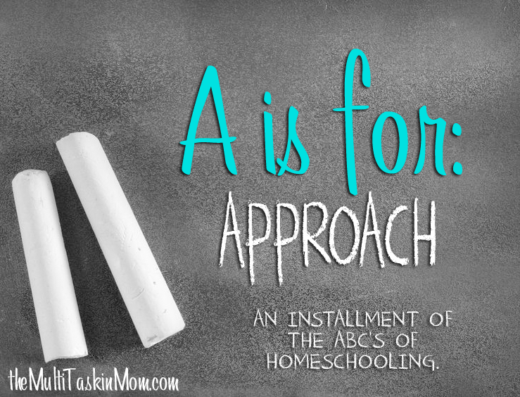 A is for Approach
