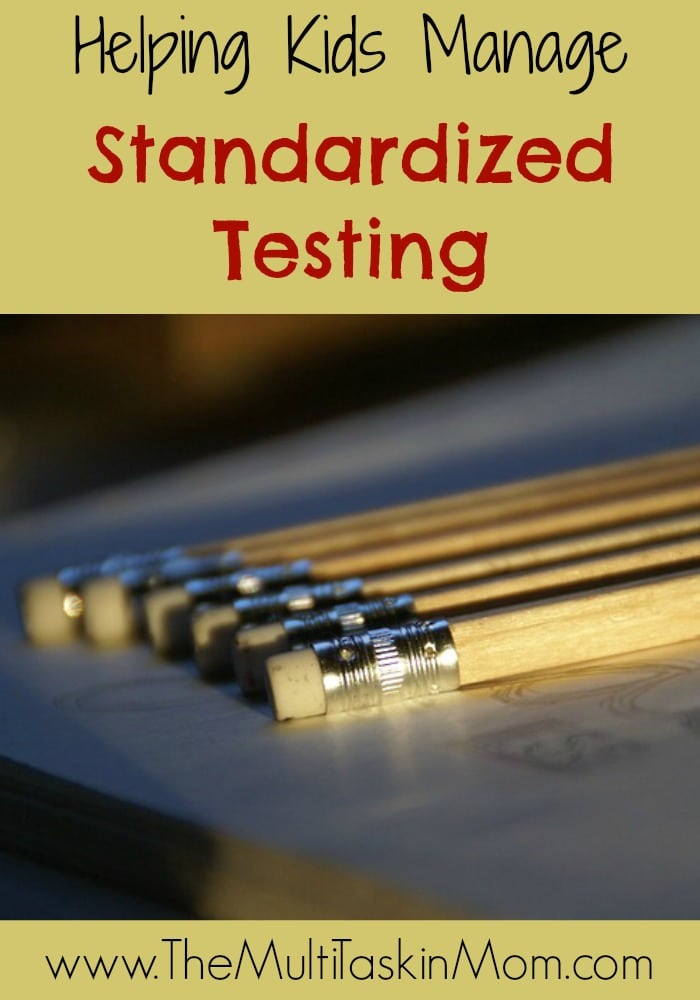 Helping Kids Manage Standardized Testing
