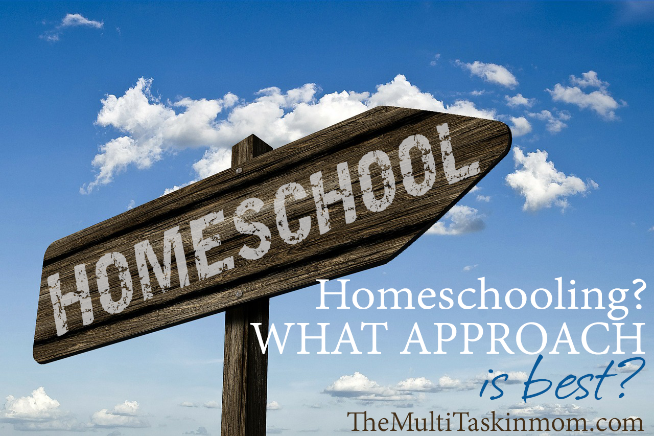 What homeschool approach is best for you and your family