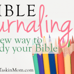 Journaling the Bible