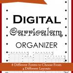 Organize your Digital Curriculum