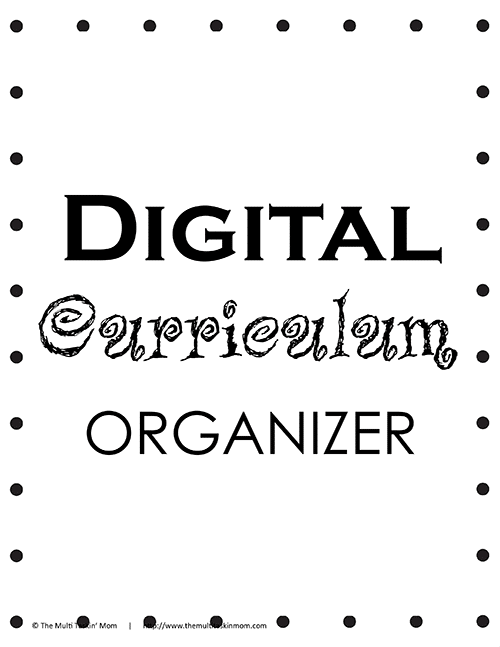 Digital Curriculum Organizer thumb