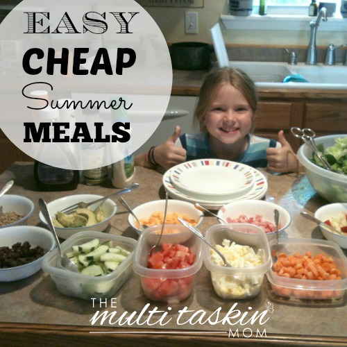 Need ideas for cheap & easy meals that you can throw together quickly without crowding your summertime fun? Check these out -- no oven required!