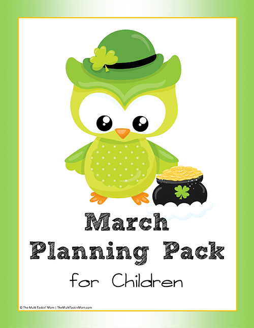 March Planning Pack for Children