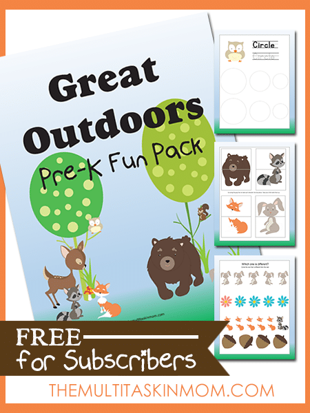 Great Outdoor Fun Pack