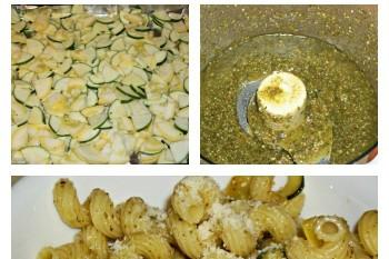 Simple Vegetarian Pesto Pasta