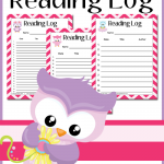 Free Owl Themed Reading Logs
