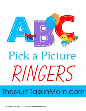 ABC Pick the Picture Ringer NEW