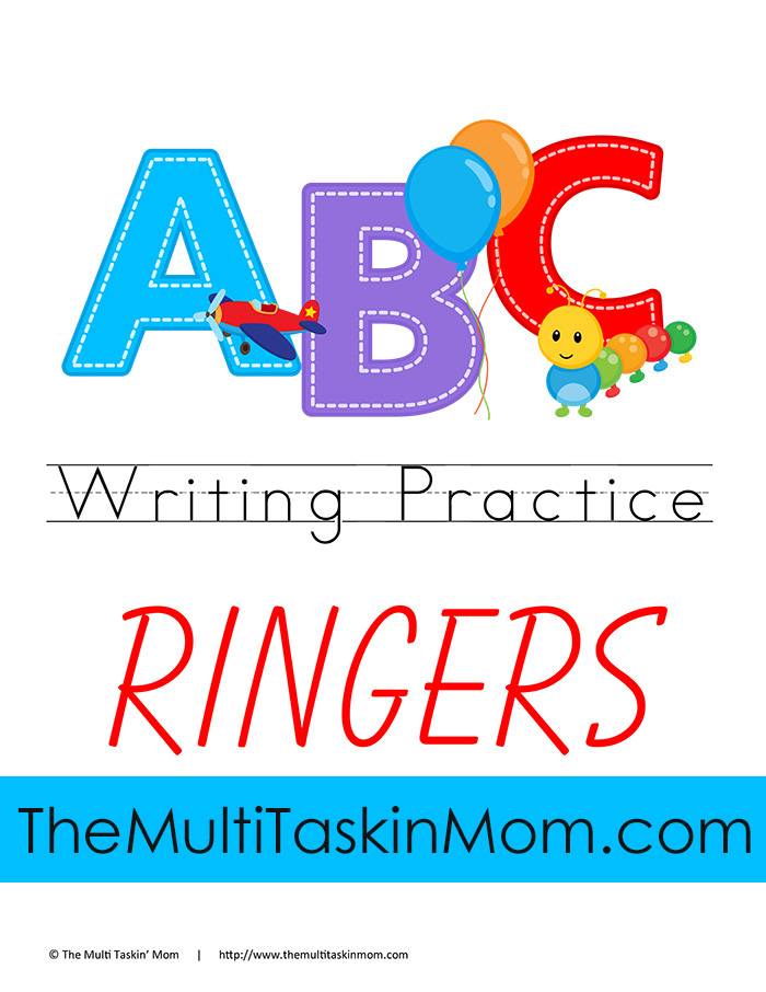 ABC Ringer Writing Practice Thumb