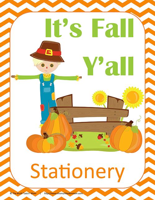 Fall Stationery thumb
