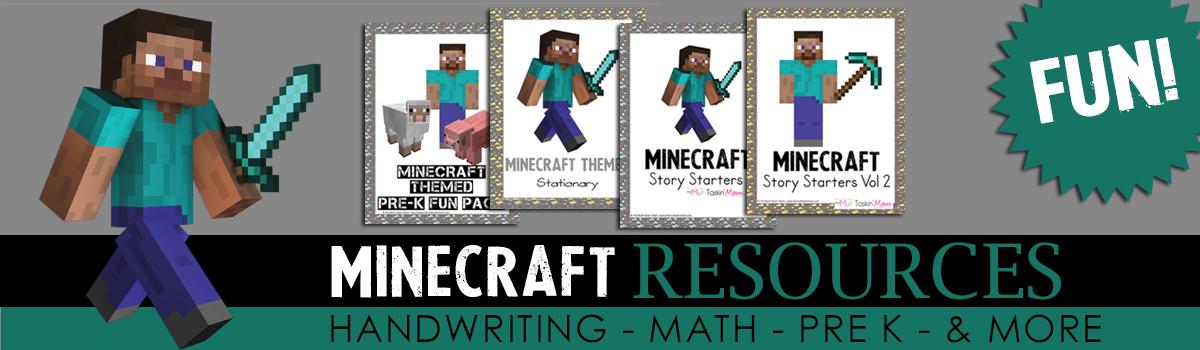 Minecraft Resources Slider