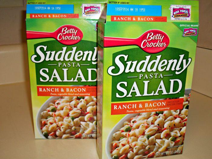 Super Easy Ranch Pasta Salad