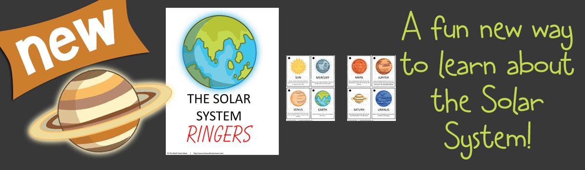solar system Ringers Slider