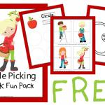 Apple Picking PreK Fun Pack *FREE*