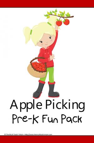 Apple Picking PreK Fun Pack