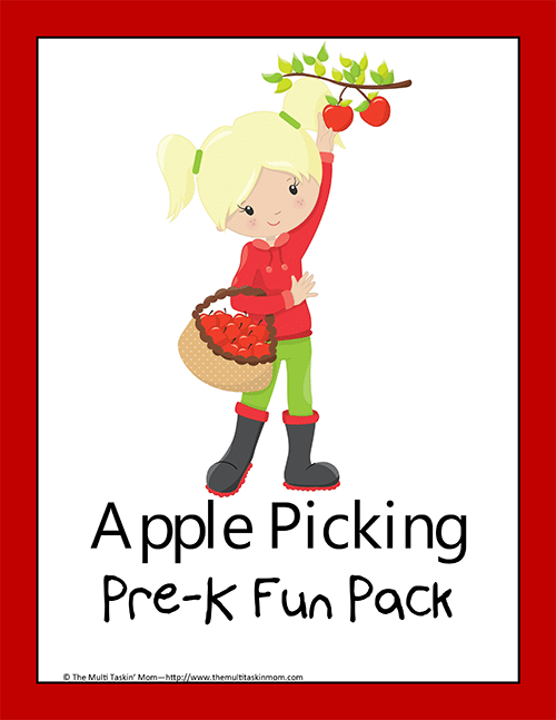 Apple Picking PreK Fun Pack thumb