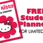 FREE Cute Kitty Student Planner *LIMITED TIME*