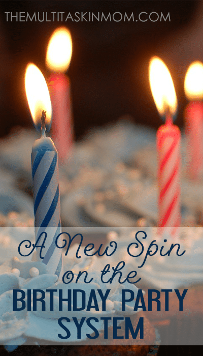 How to Put a New Spin on the Birthday Party System