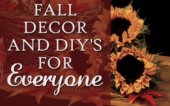 Fall Decor and DIY's For Everyone