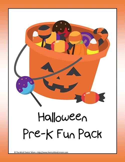 Halloween PreK Fun Pack