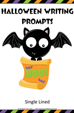 Halloween Writing Prompts – UE