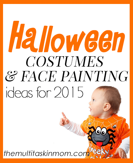 Halloween costumes and face painting ideas for 2015