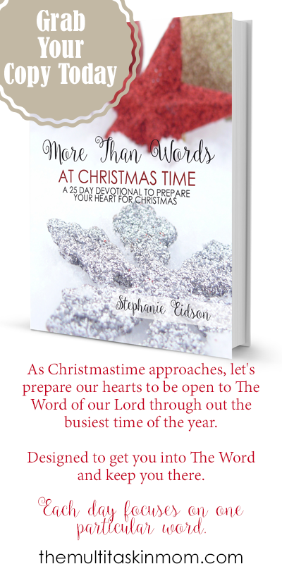 Grab your copy of More Than Words at Christmas Today