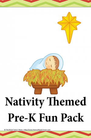 Nativity Themed PreK Pack