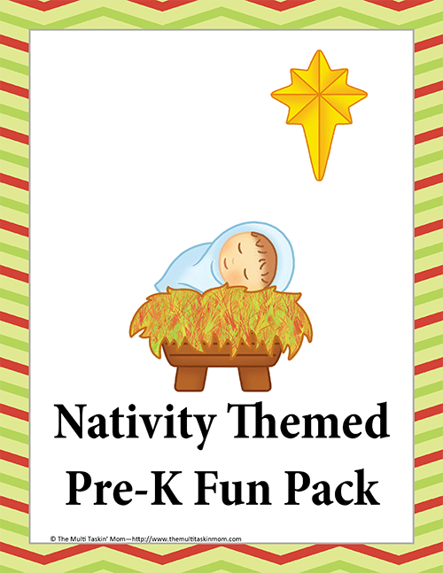 Nativity PreK Fun Pack-1