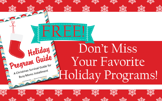 Holiday Program Guide